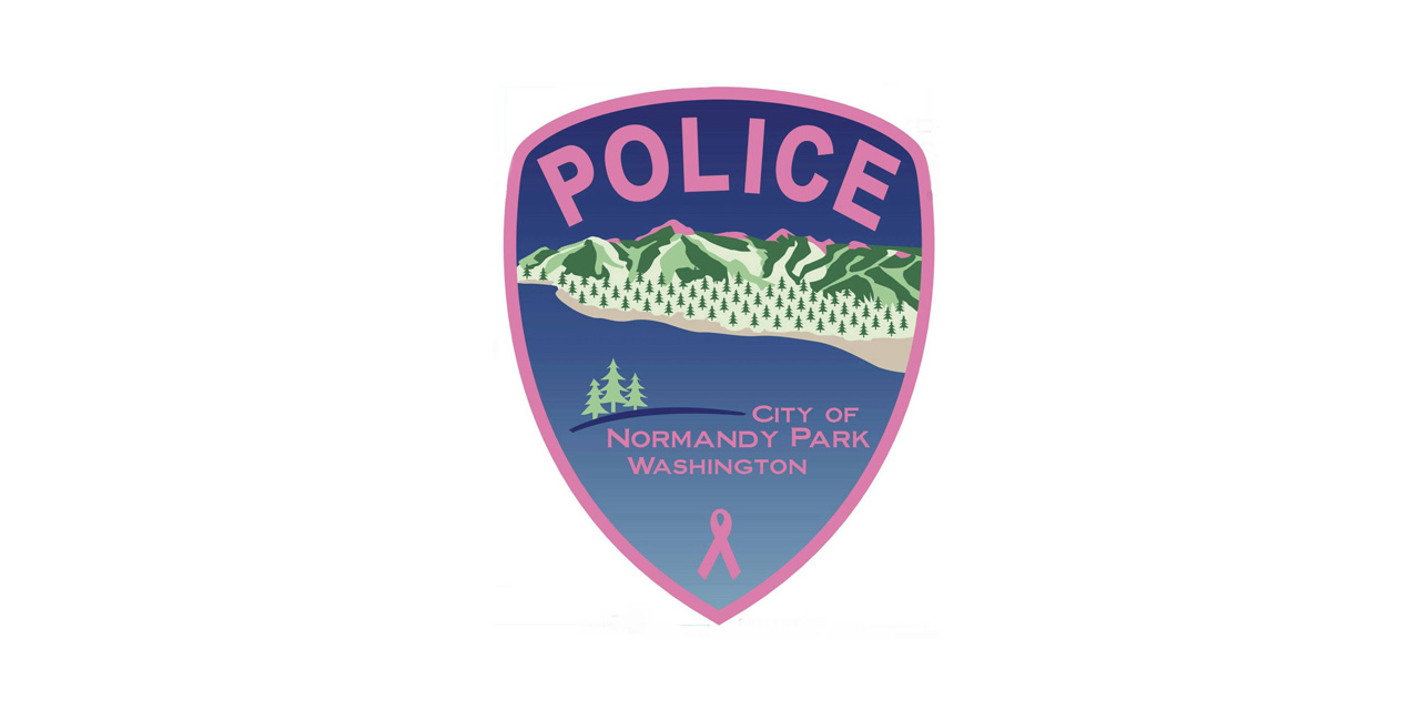 Help Normandy Park Police fight cancer – buy a Pink Police Patch!