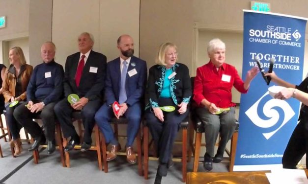 VIDEO: Seattle Southside Chamber's 'Candidates Night' Forum was lively, fast-paced