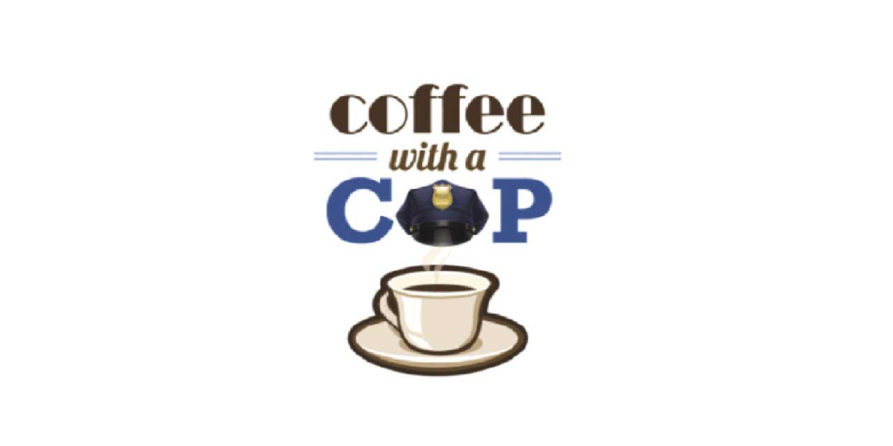Have 'Coffee with a Cop' at Empire Coffee on Saturday, Oct. 19