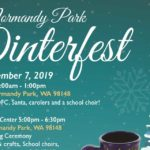 REMINDER: Winterfest returning to Normandy Park this Saturday, Dec. 7!