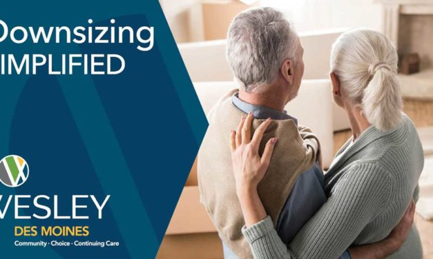 Advertiser Wesley Homes: 'Downsizing Simplified – Where do you begin?'