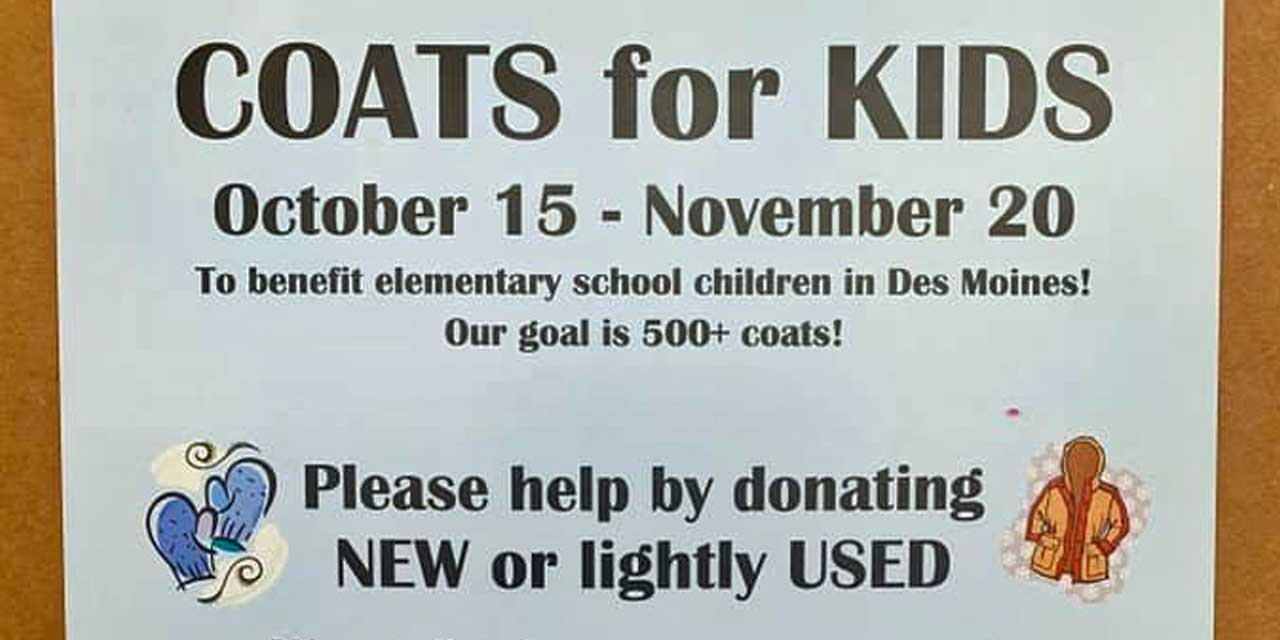 Help Rotarians & Firefighters collect Coats for Kids through Nov. 20