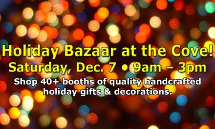 Holiday Bazaar will be at Normandy Park Cove on Saturday, Dec. 7!