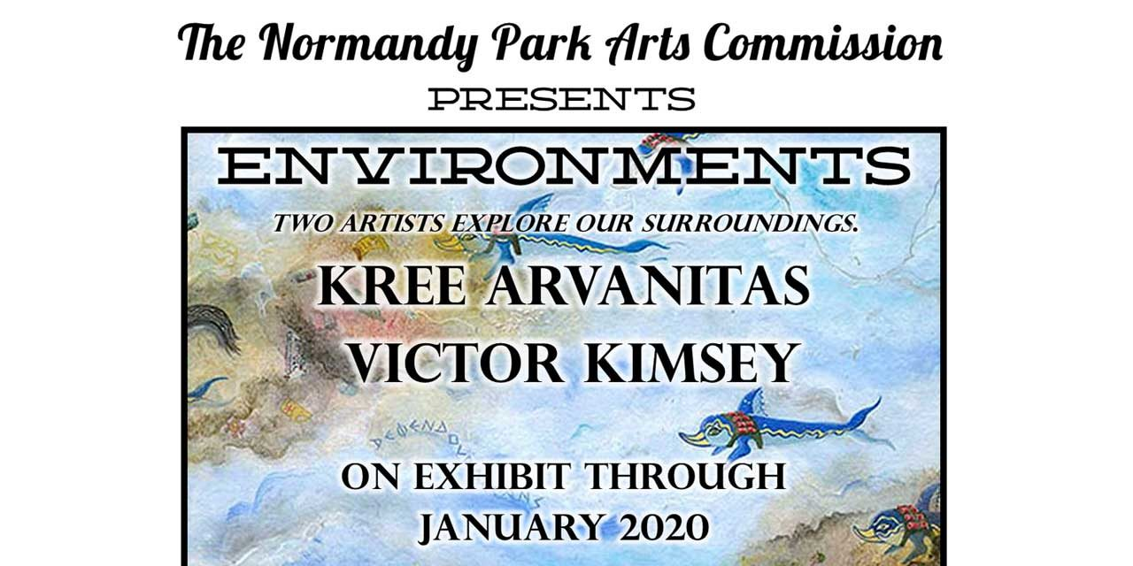 Artist's Reception for Victor Kimsey & Kree Arvanitas will be Thurs., Dec. 12