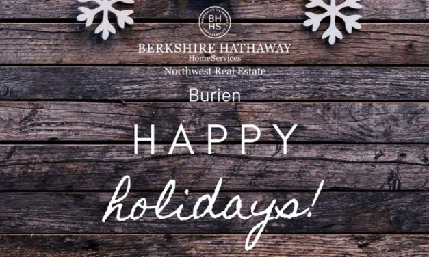 Happy Holidays from Real Estate Sponsor Berkshire Hathaway HomeServices NW!