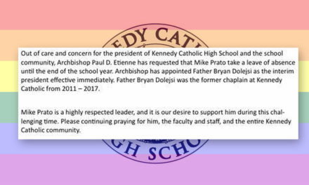 Kennedy Catholic President Michael Prato given 'leave of absence' by Archbishop