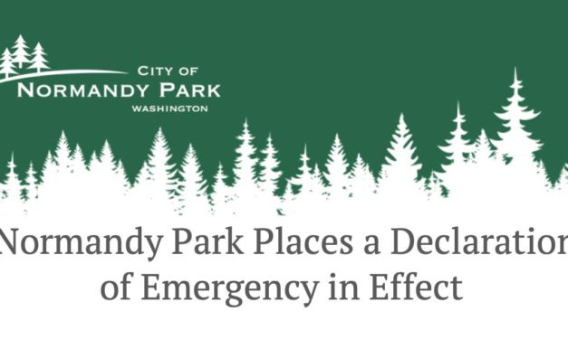 Normandy Park puts 'Declaration of Emergency' into Effect