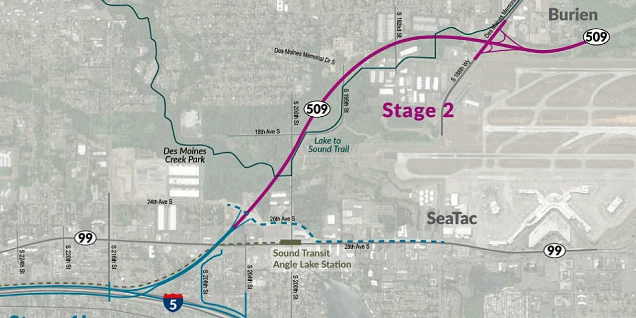 WSDOT seeking public input on SR 509 completion project through March 5
