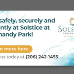 Live safely, securely and vibrantly at Solstice at Normandy Park!