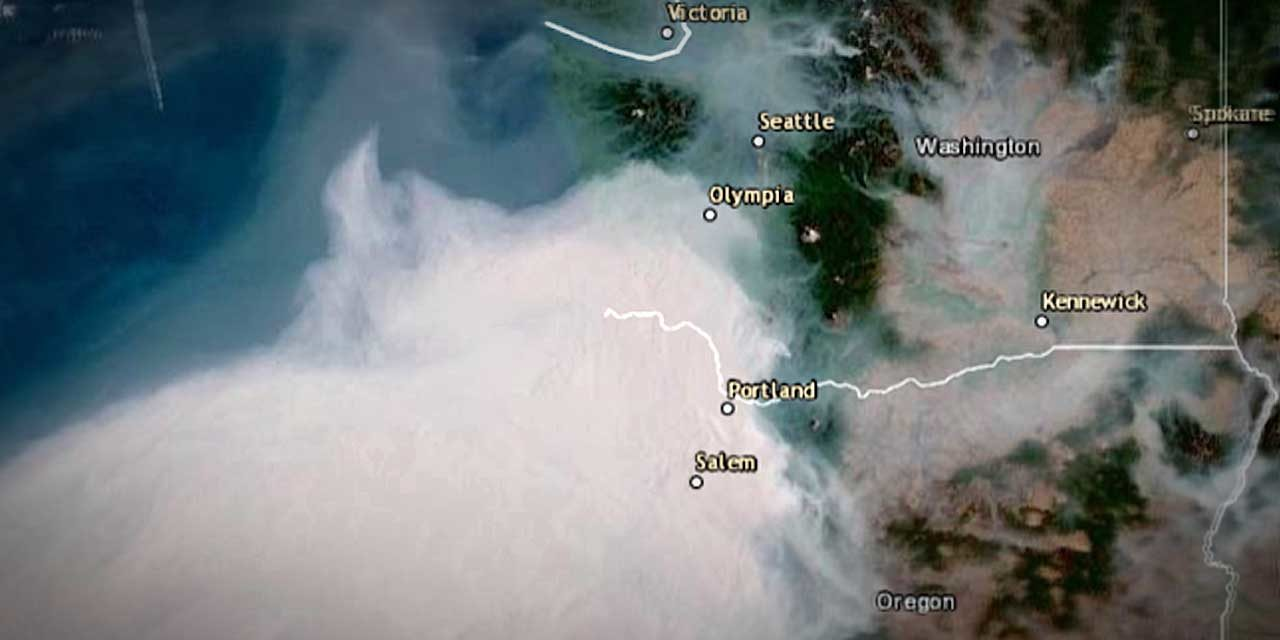 SMOKE ALERT: 'Super-massive body of smoke' coming to region this weekend
