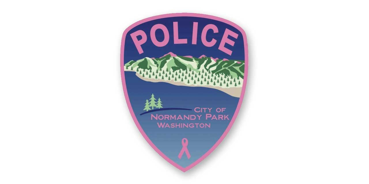Normandy Park Police selling pink patches during breast cancer awareness month