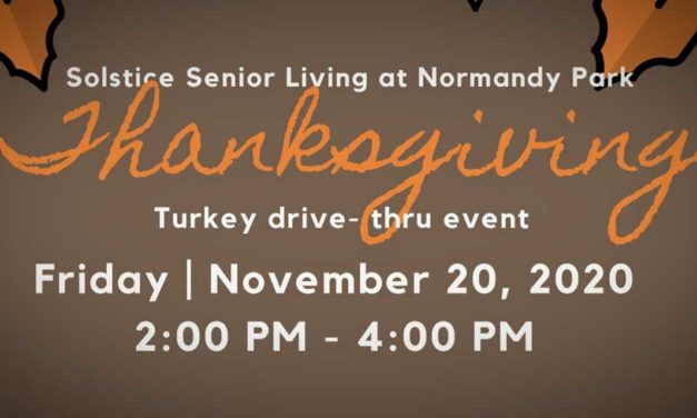 Solstice Senior Living's 'Dinner or Pardon?' Turkey drive-thru event is Friday, Nov. 20