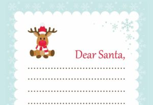 Write a Letter to Santa and he may read it on Normandy Park TV 1