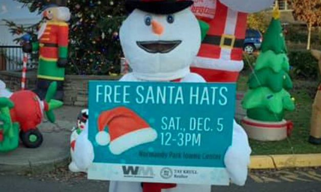 Over 700 Santa Hats given away at drive-thru Winterfest event in Normandy Park