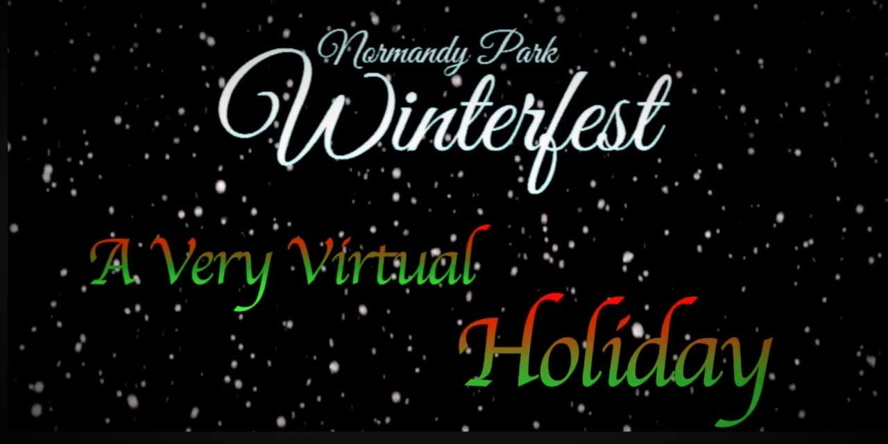 VIDEO: Watch 'A Very Virtual Holiday' Normandy Park Winterfest featuring Santa & guests