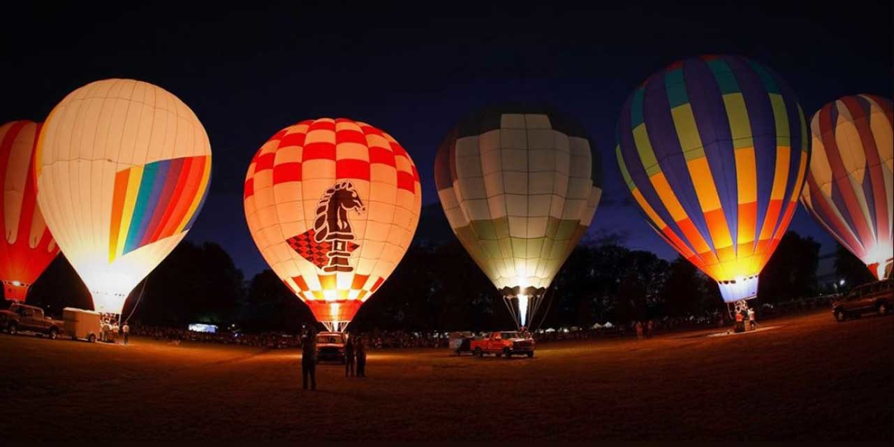 'Light The Park!' Free Drive-by Hot Air Balloon Glow will be in Normandy Park this Saturday