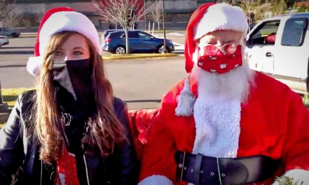 VIDEO: How do you give away 500 Santa Hats during a pandemic? ShanzDev shows you how