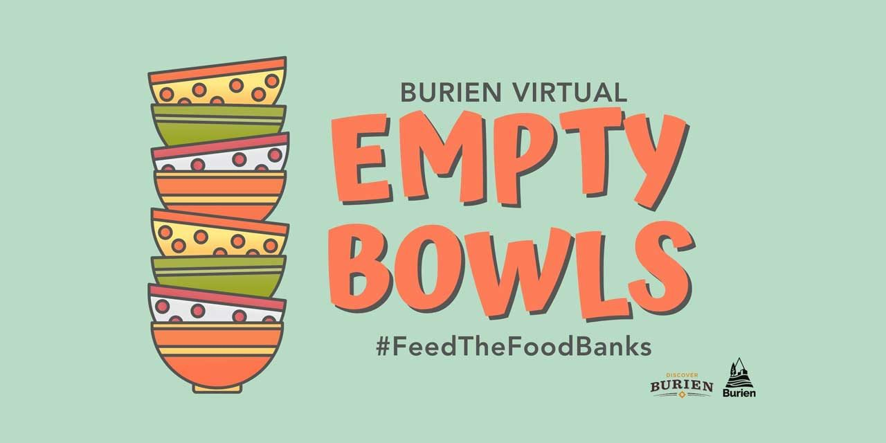 Annual Empty Bowls fundraiser will be all virtual this year, from Jan. 15–29