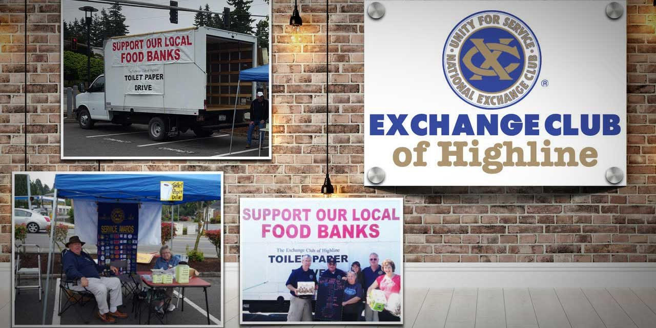2021 Annual Fundraiser for Exchange Club of Highline will be Thursday, Feb. 11