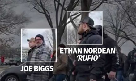 Wall Street Journal video shows Proud Boy Ethan Nordean involved in Jan. 6 insurrection