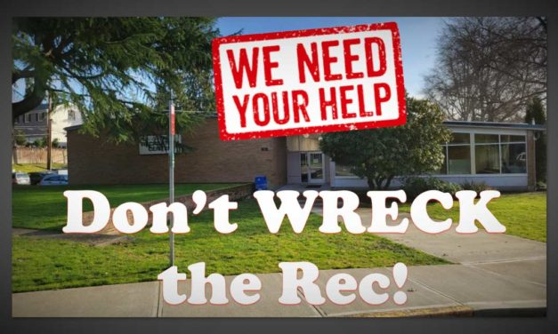 An update from the organizers behind the 'Don't Wreck the Rec' campaign