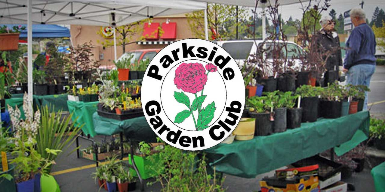 Parkside Garden Club's 2021 Plant Sale will be at The Cove on Saturday, May 15