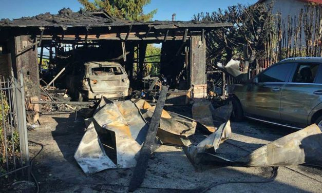 Fire burns home in Normandy Park Tuesday afternoon