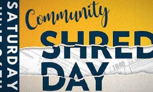 Sunrise Financial Services holding free 'Community Shred Day' on Sat., June 26