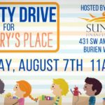 Sunrise Financial Services holding Charity Drive for Mary's Place on Saturday, Aug. 7