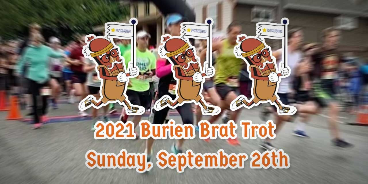 Brat Trot will run again – in person – on Sunday, Sept. 26