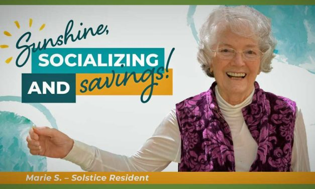 Solstice Senior Living at Normandy Park – a place where residents can live vibrantly and independently