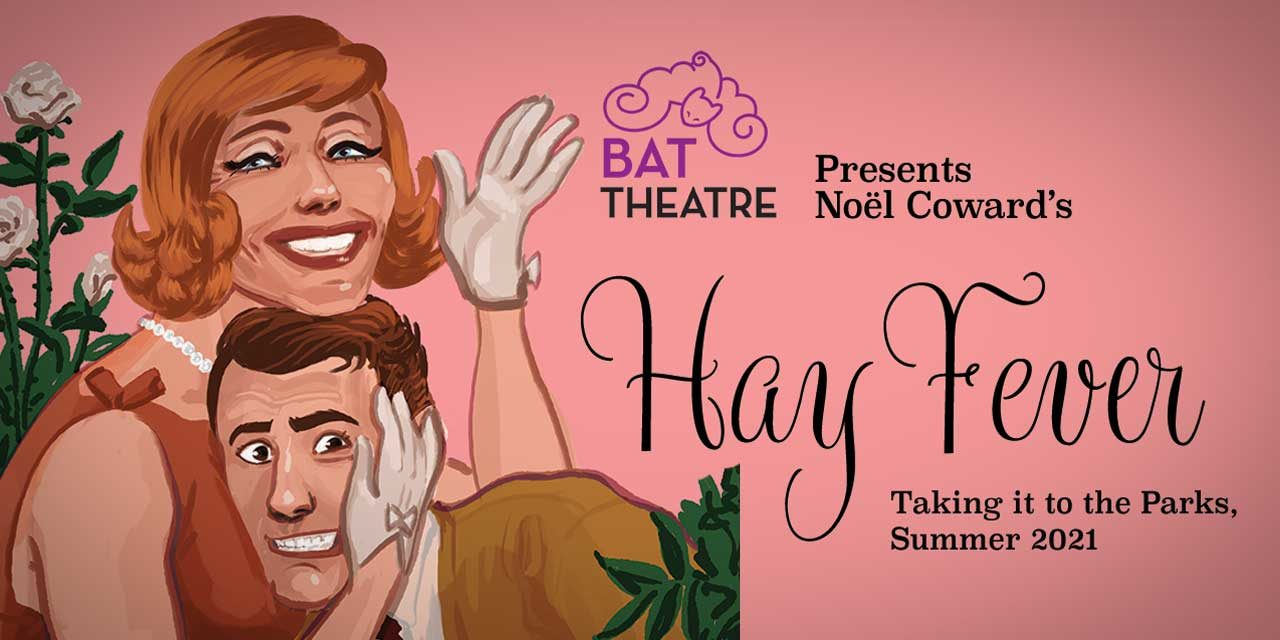 REVIEW: BAT Theatre's 'Hay Fever' at the Park: 'hilarious and odd, an entertaining story from beginning to end'
