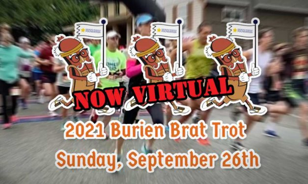 UPDATE: This year's Brat Trot – set for this Sunday – will now be a fully virtual event
