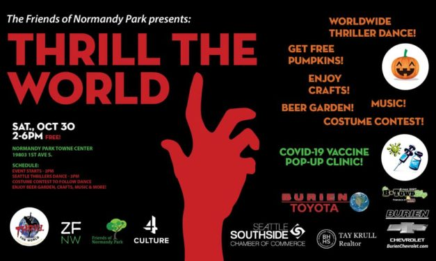 'Thrill the World' Zombie dance event will be Sat., Oct. 30 at Normandy Park Towne Center