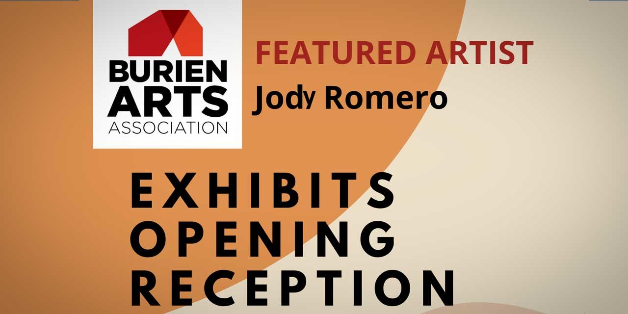 Reception for Artist Jody Romero will be at Highline Heritage Museum Friday night
